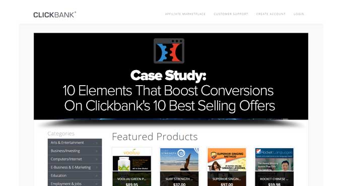 clickbank best selling offers