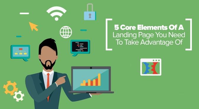core element landing page optimization