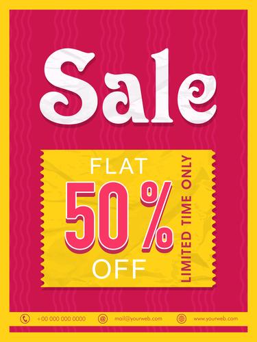 Sale Flyer or Sale Banner.