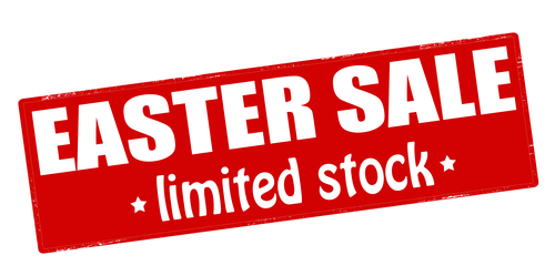 Easter sale limited stock