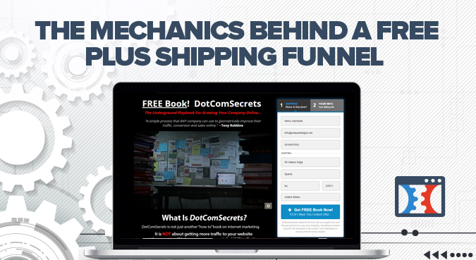 free plus shipping funnel
