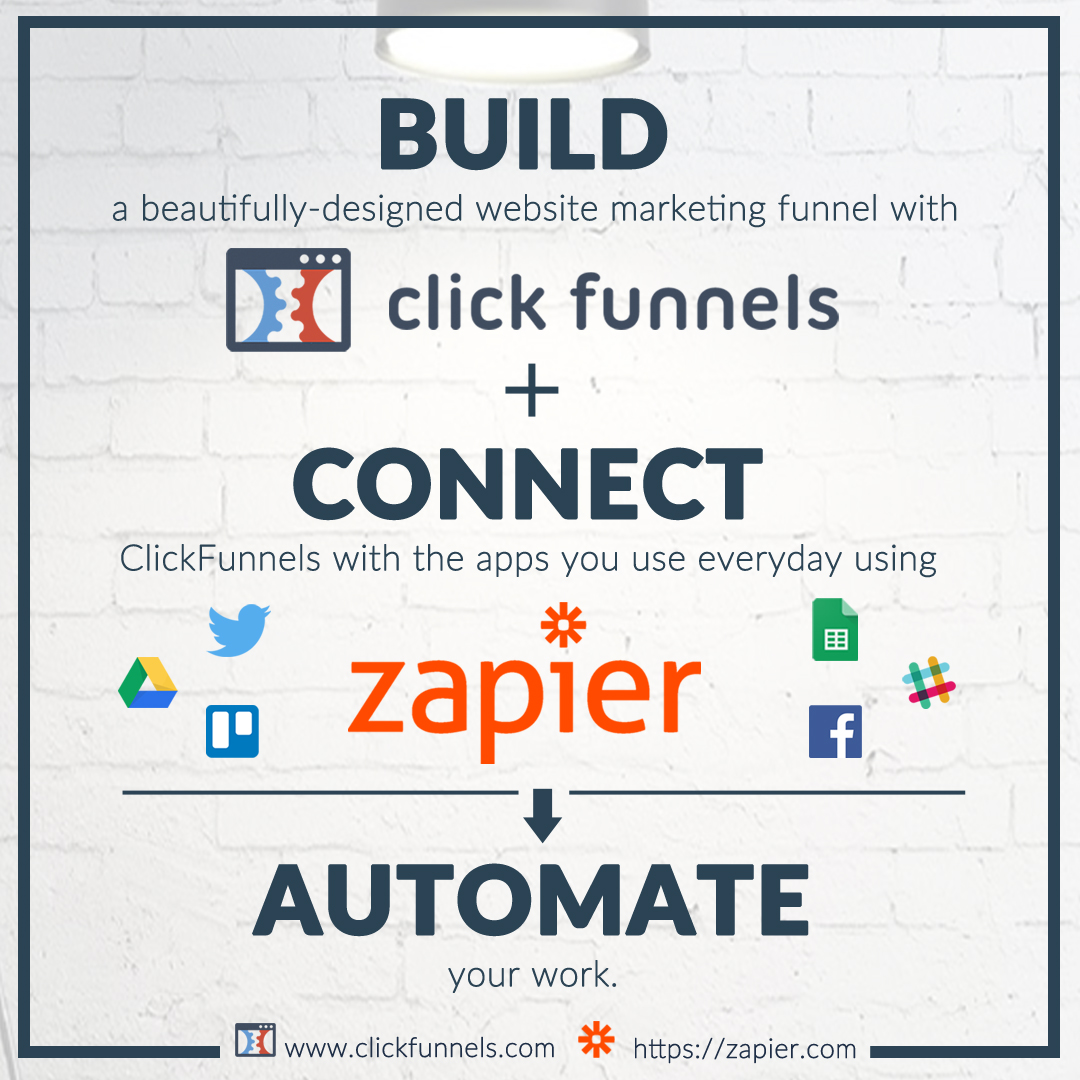 ClickFunnels and Zapier Power Team!