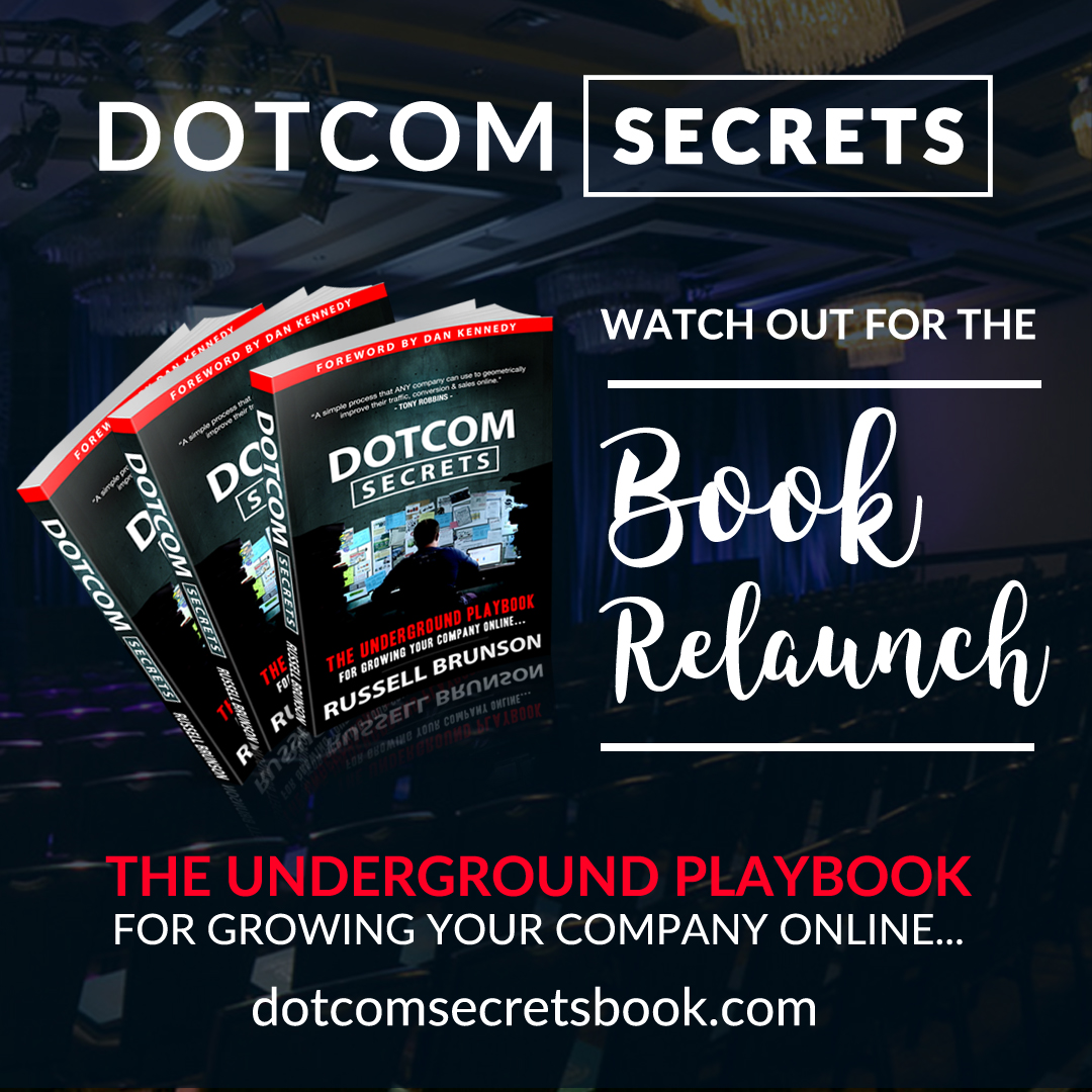 DotComSecrets is Back! WITH A VENGEANCE!