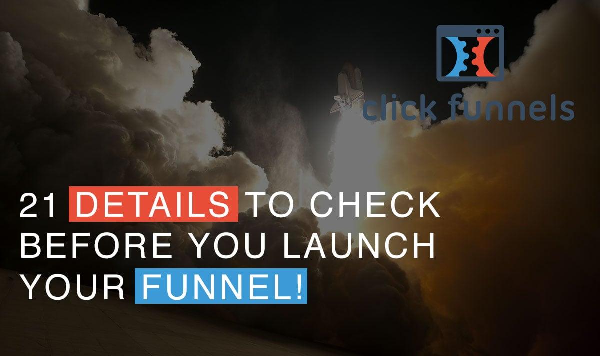 funnel checklist