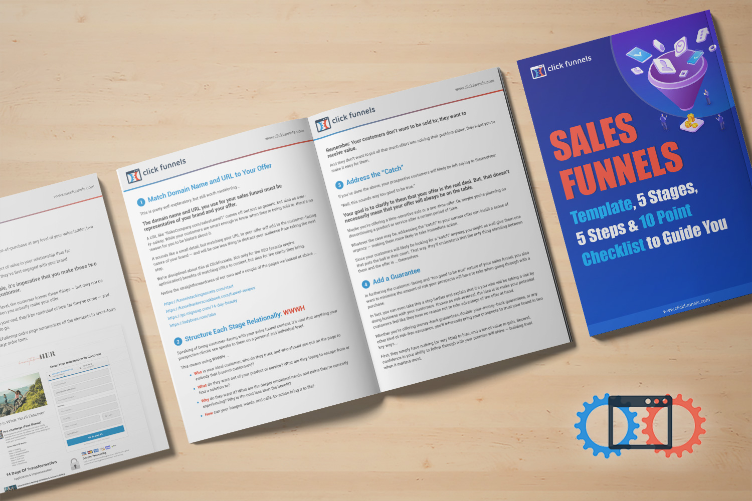 Download the sales funnel template and 10 point checklist