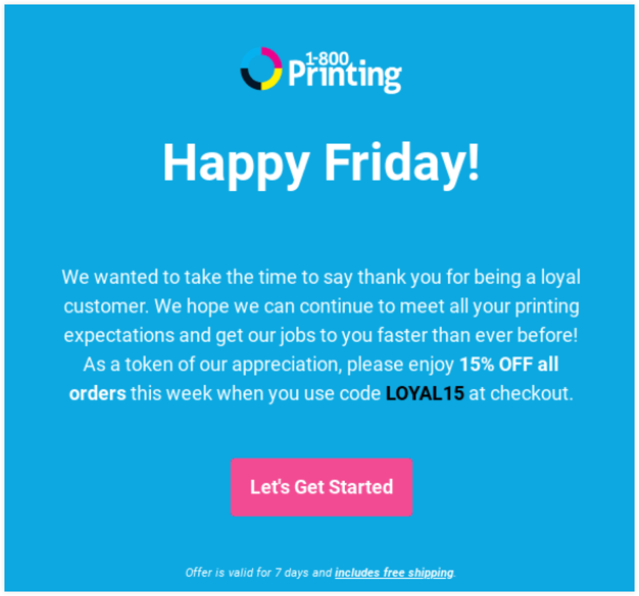 1-800 Printing Email Example | ClickFunnels