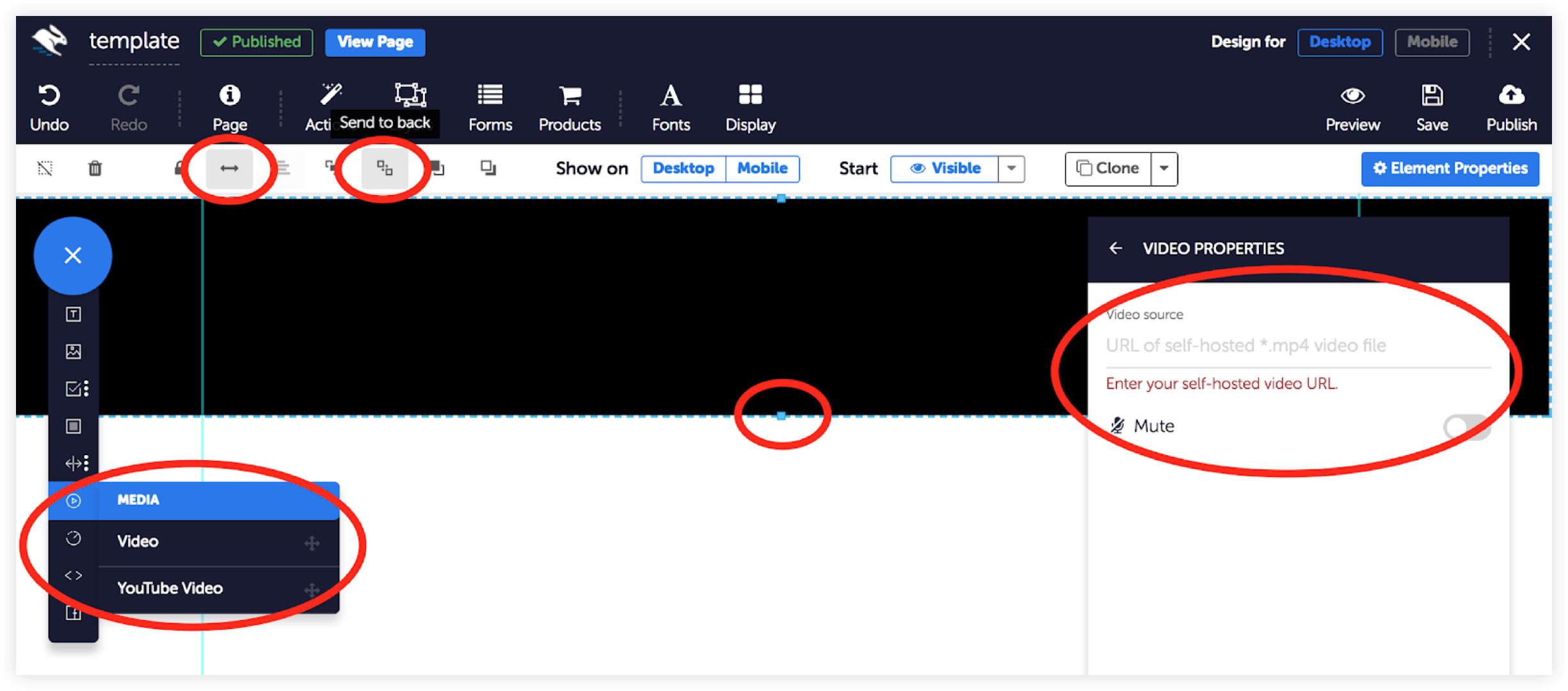 Convertri Adding Background Videos