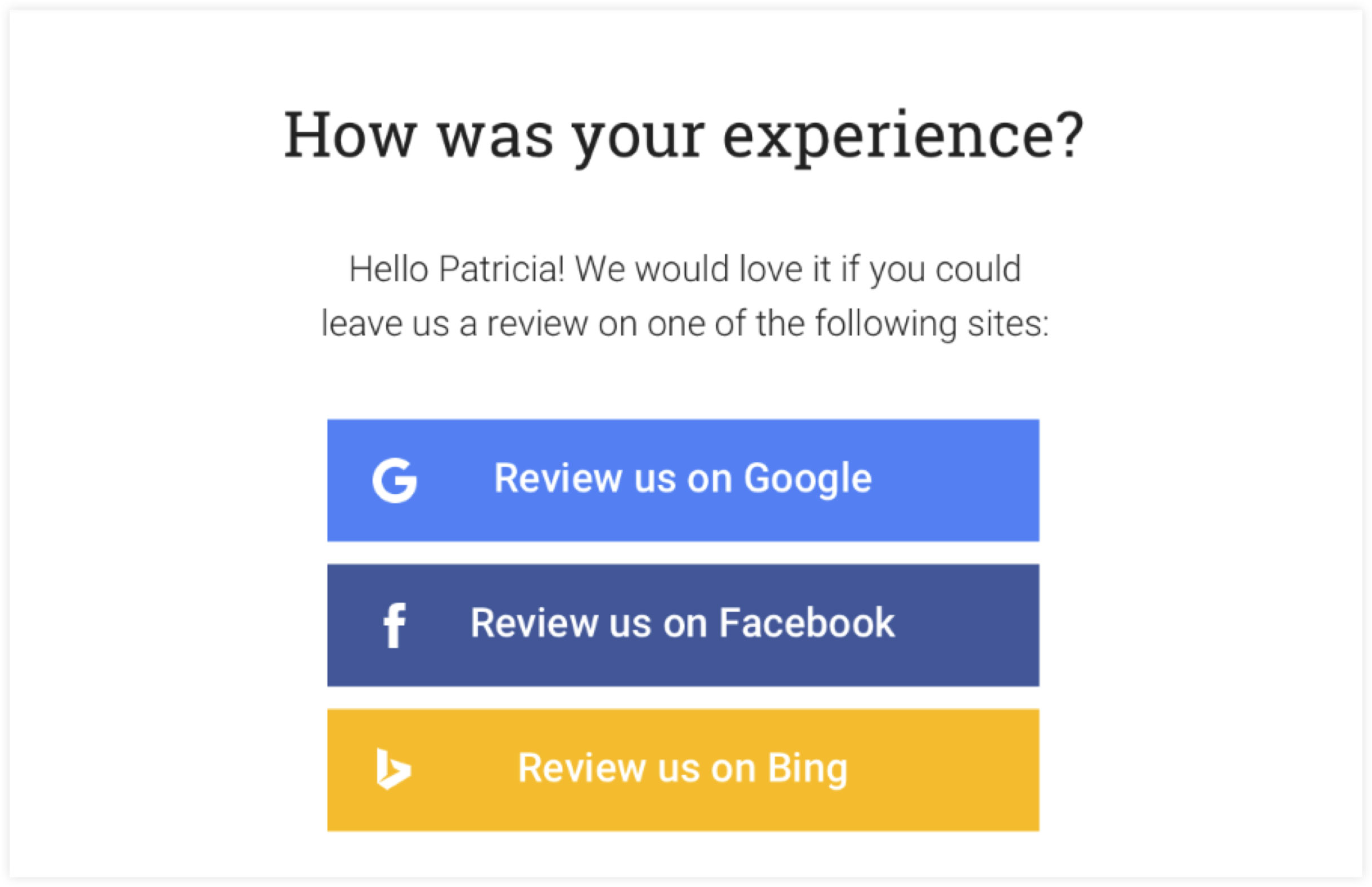 Review Email Template | ClickFunnels