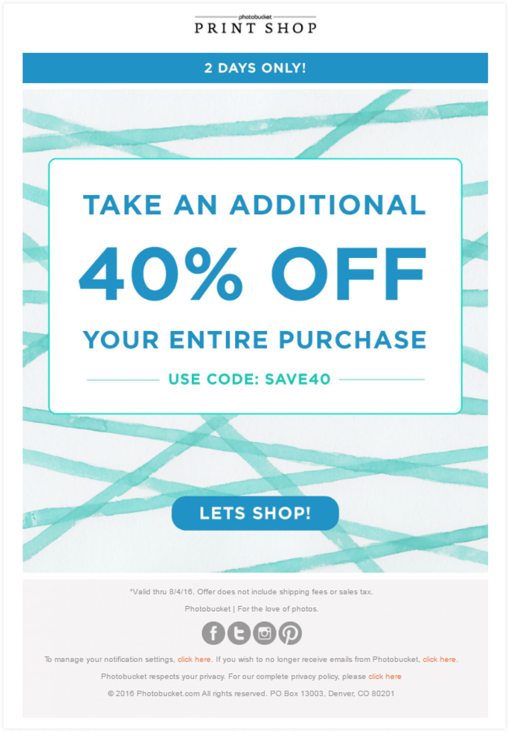 Coupon Email Template | ClickFunnels