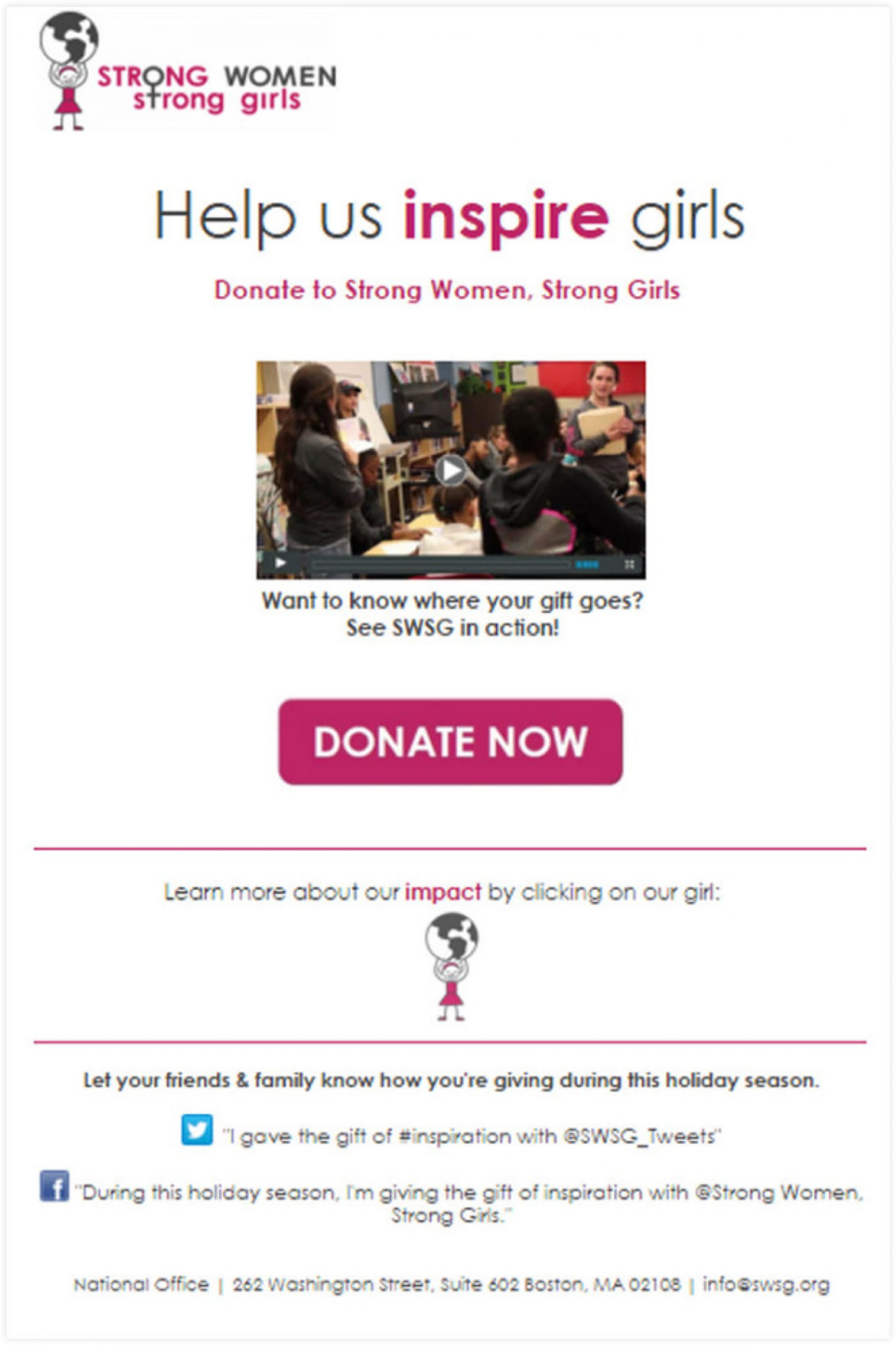 Donation Email Template | ClickFunnels