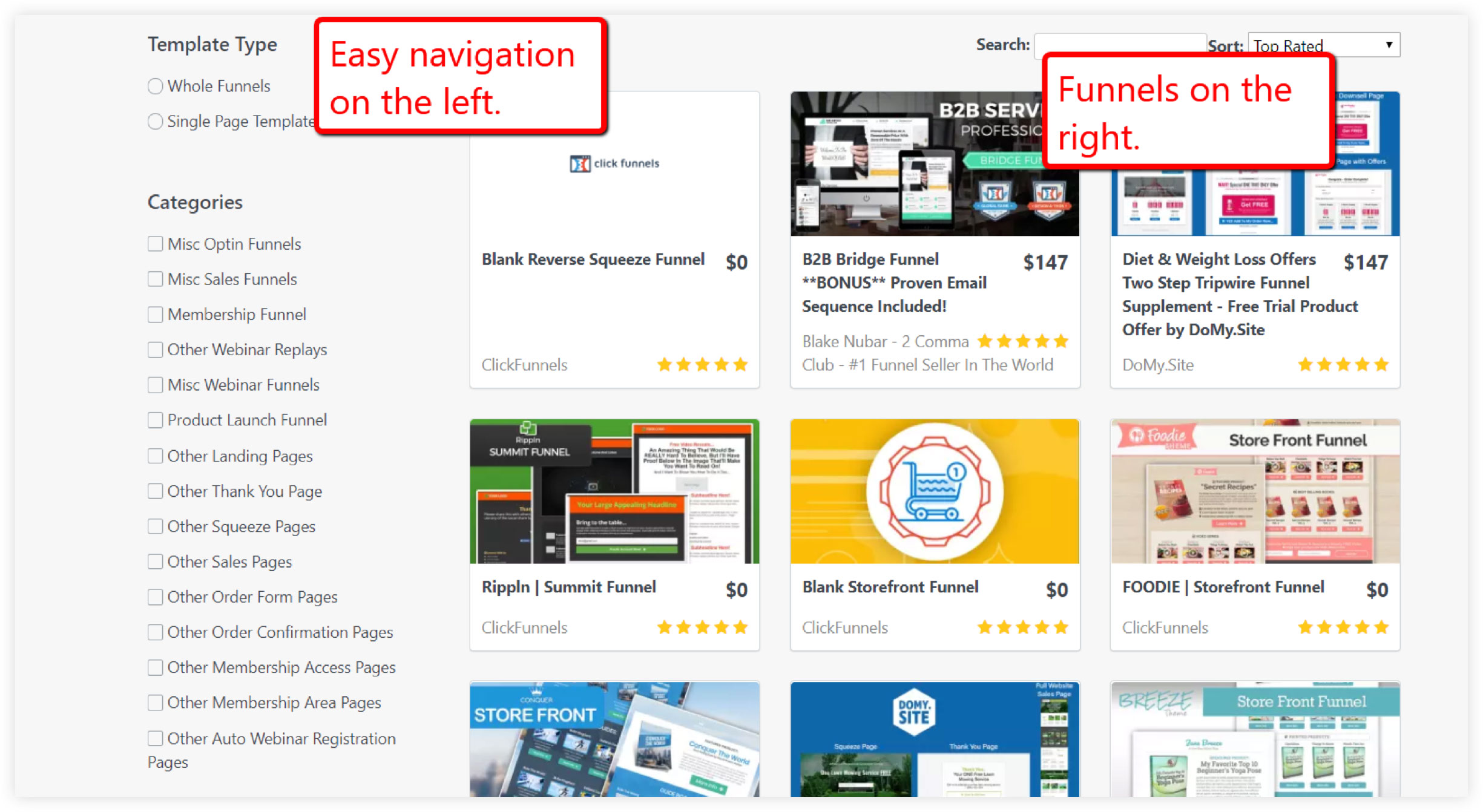 ClickFunnels Themes and Templates