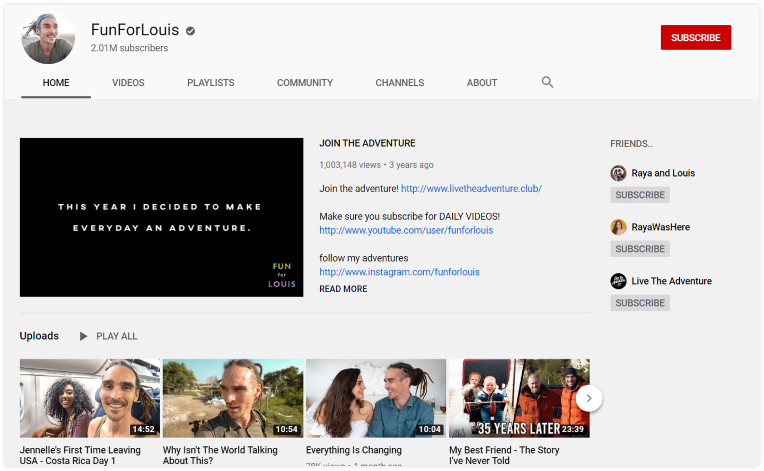 FunForLouis YouTube Channel