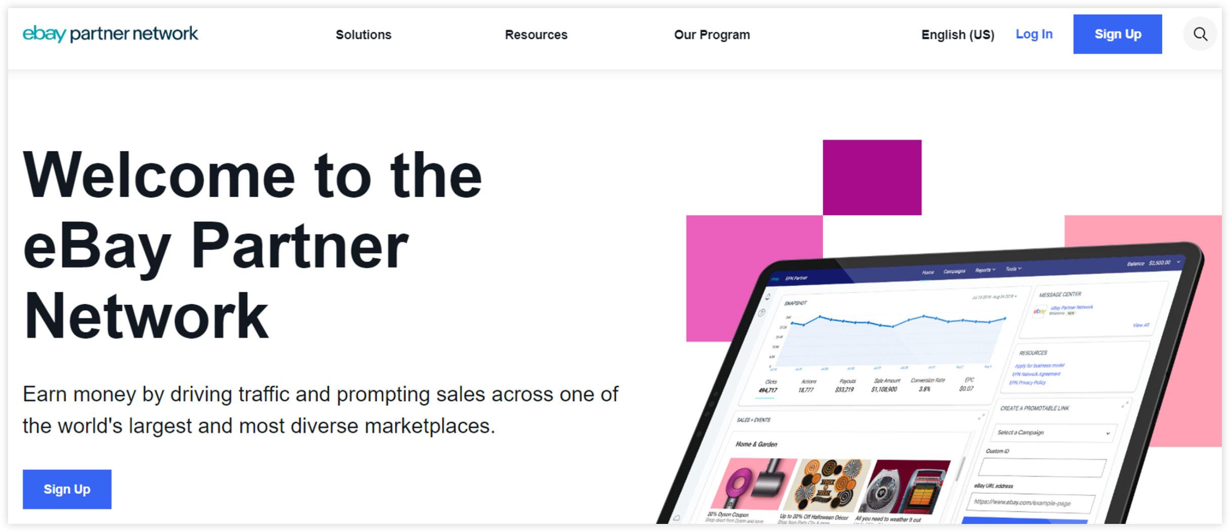 Affiliate Marketplace - eBay Partner Network
