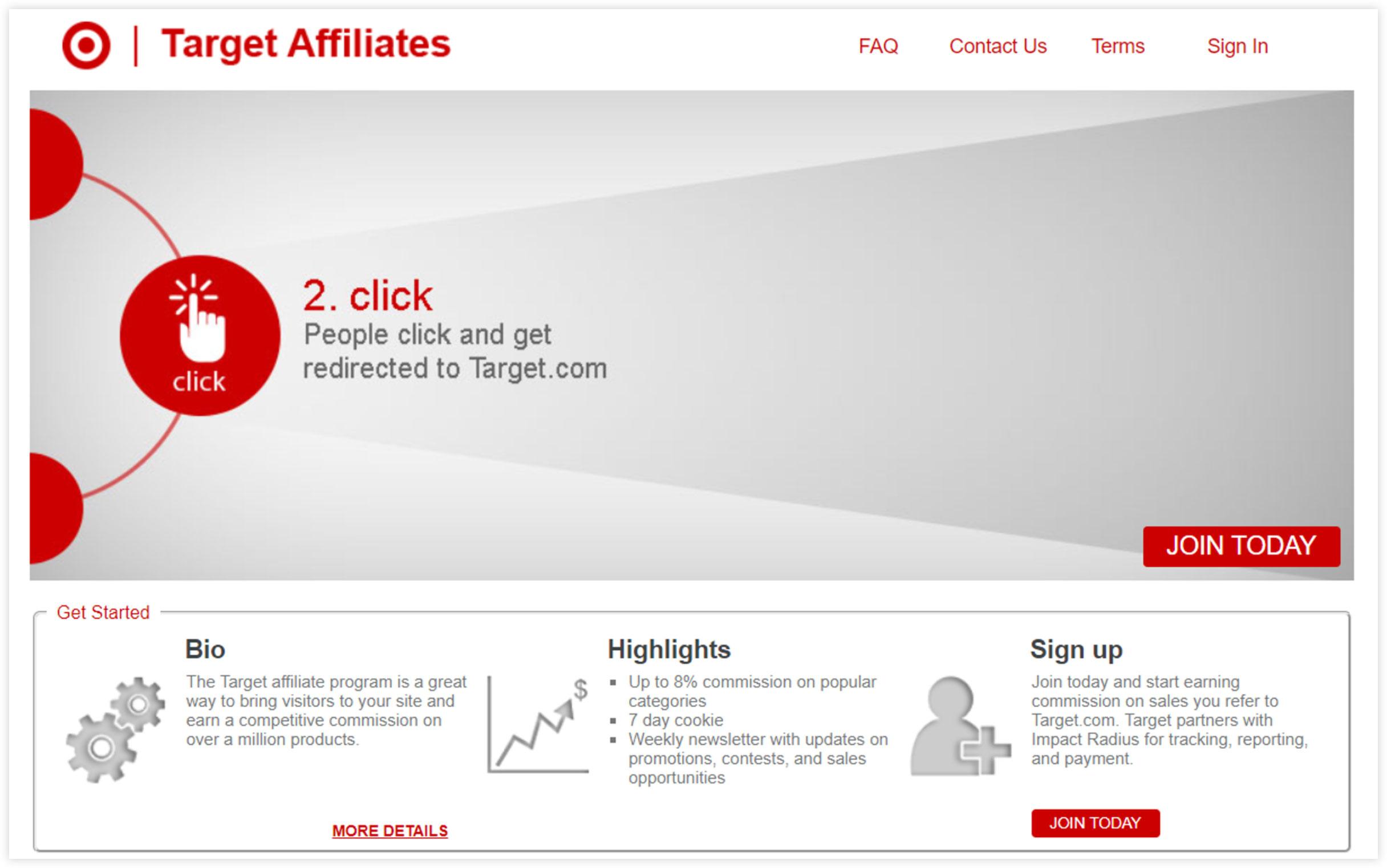 Affiliate Marketplace - Target Affiliates
