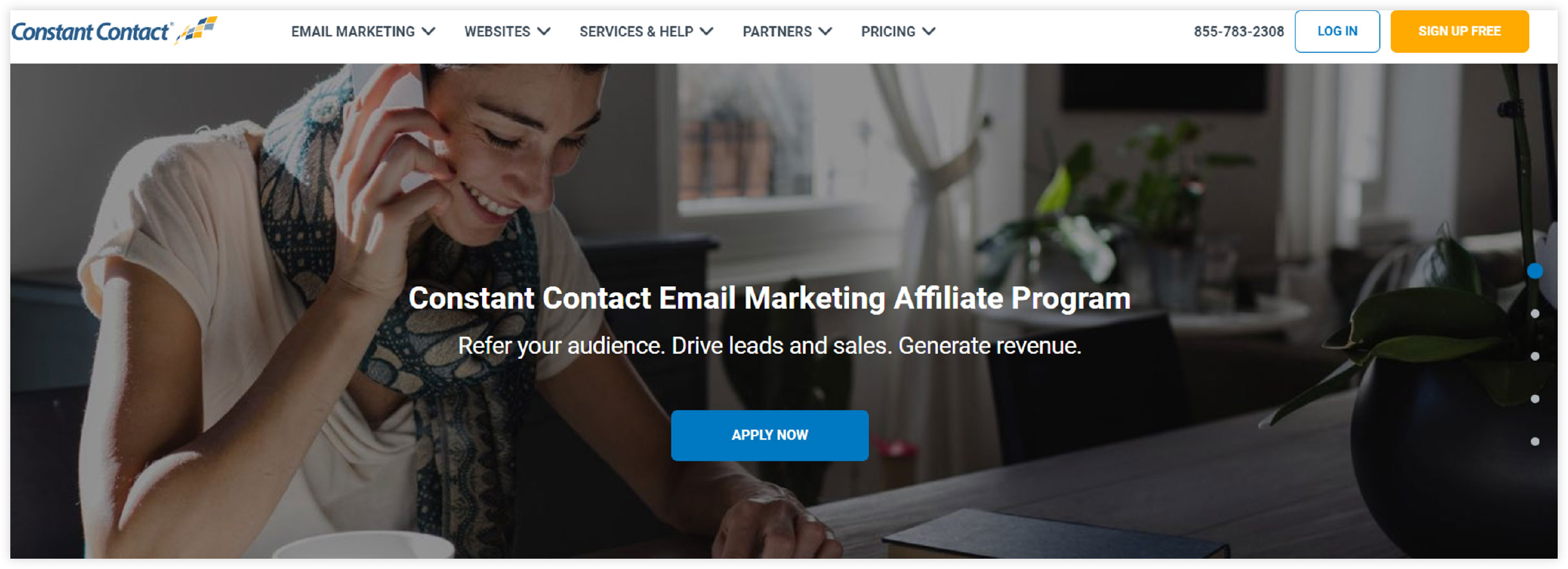 Affiliate Marketplace - Constant Contact