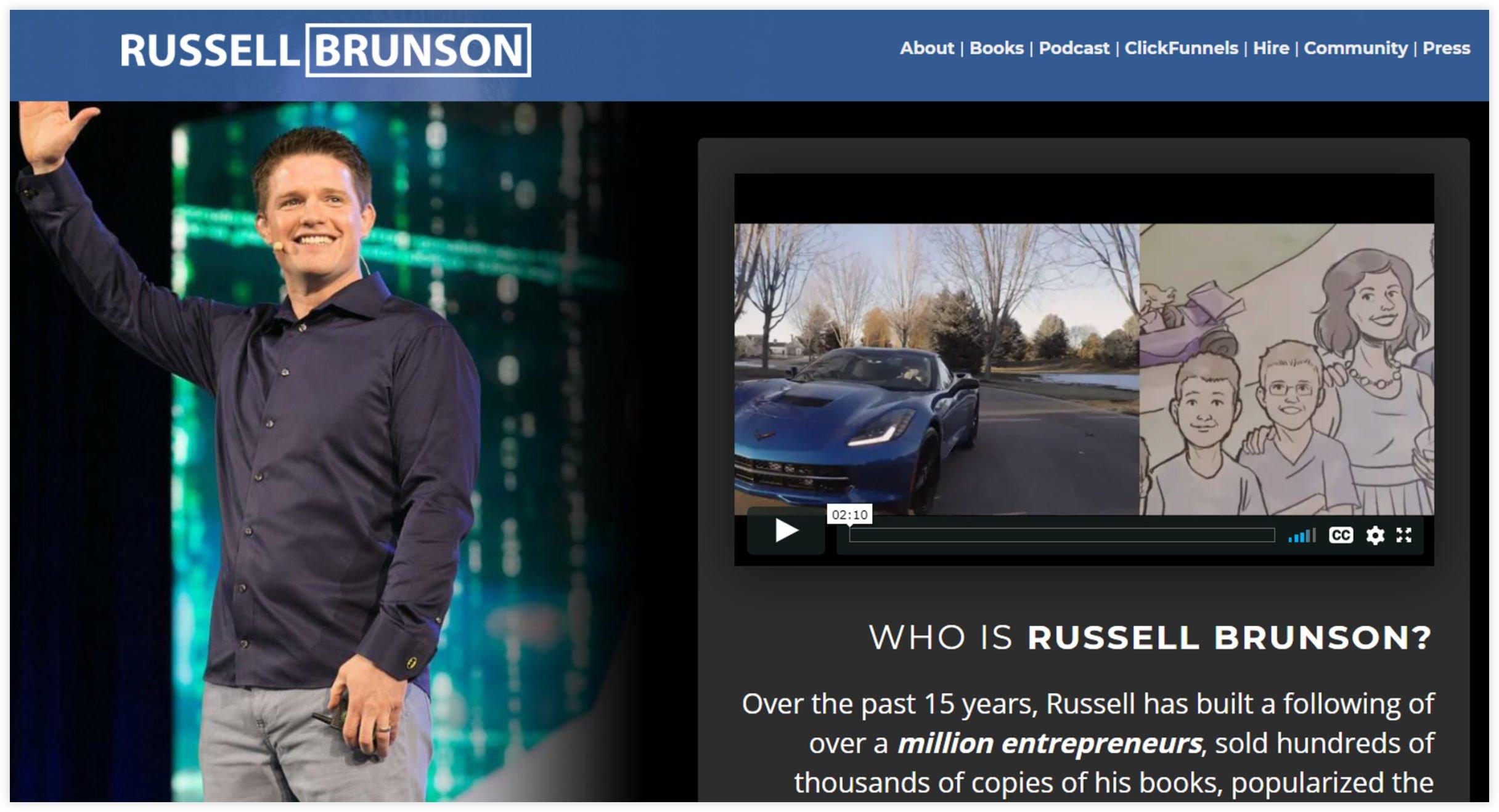 Affiliate Expert - Russel Brunson