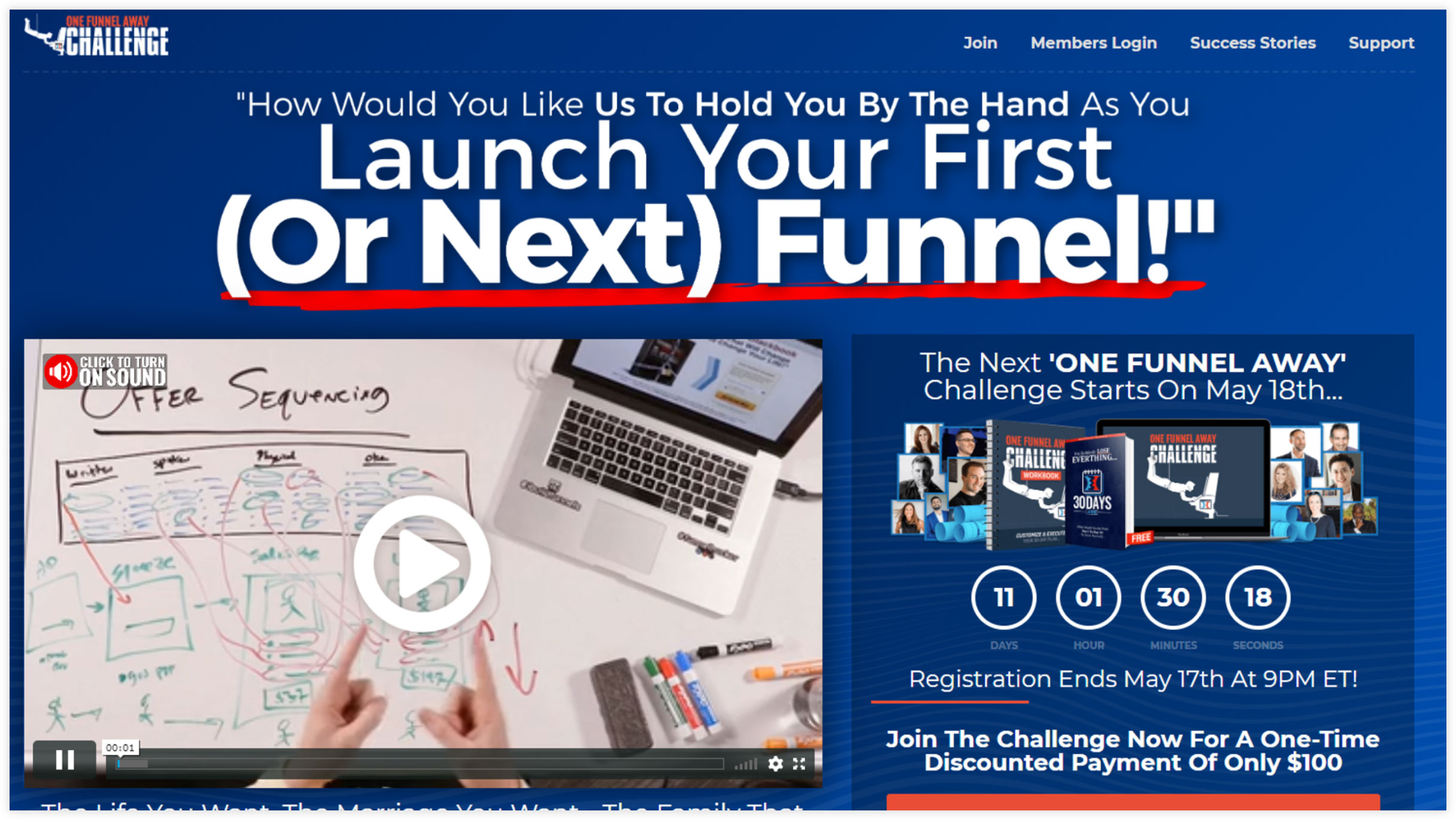 ClickFunnels' One Funnel Away Challenge