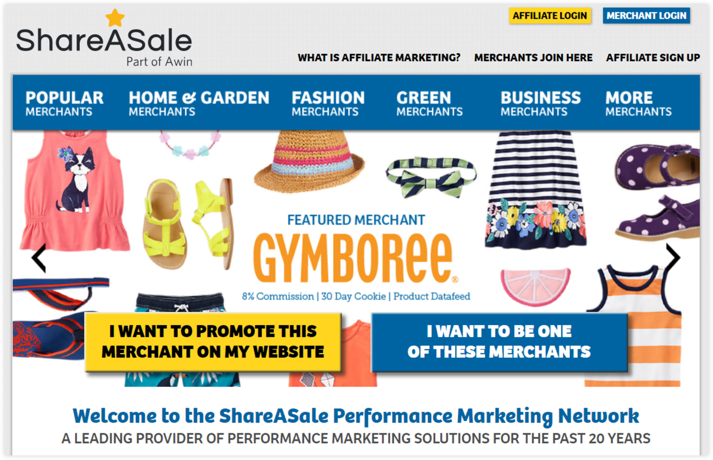 Affiliate Marketplace - ShareASale