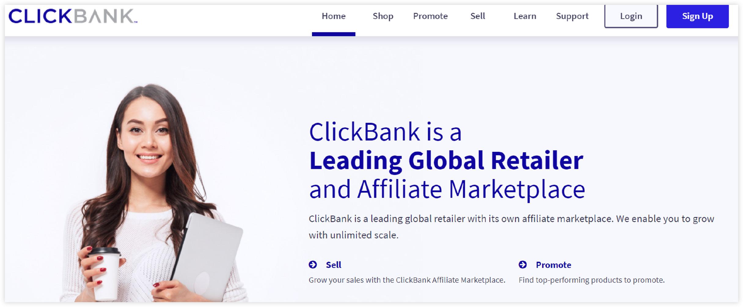 Affiliate Marketplace - ClickBank
