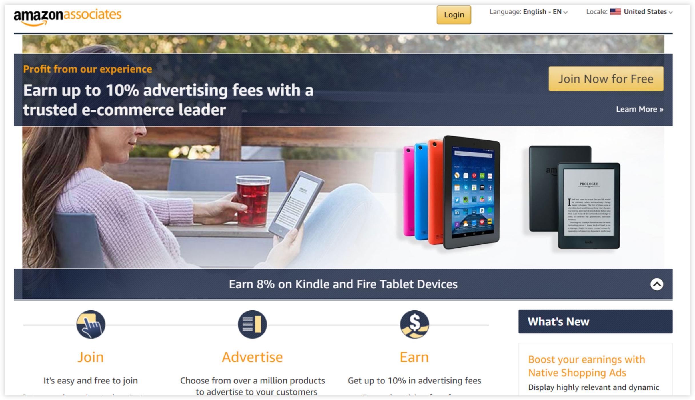 Affiliate Marketplace - Amazon Associates