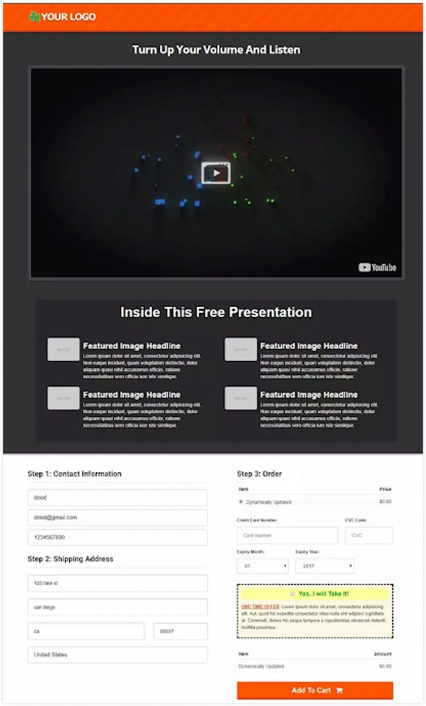 ClickFunnels Membership Funnel Template