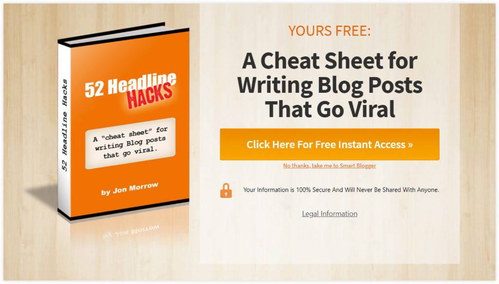 ClickFunnels eBook Funnel Template Opt-in Page