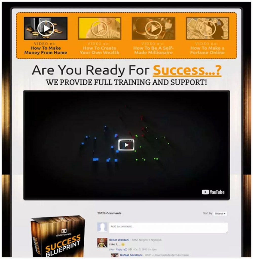 ClickFunnels Coming Soon Video Sales Funnel Template