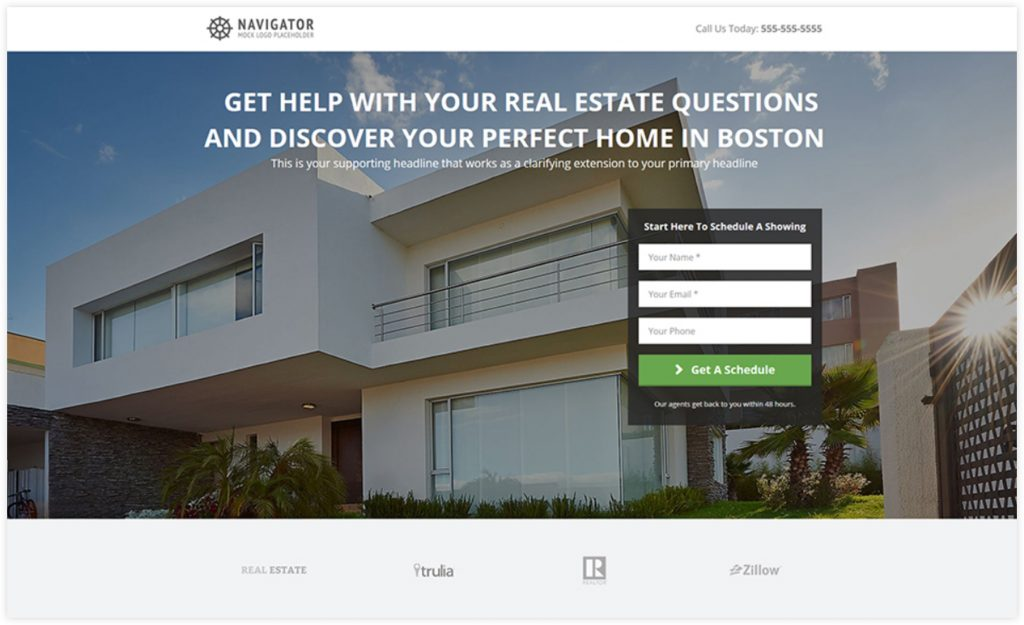 Real Estate Opt-in Sales Funnel Template