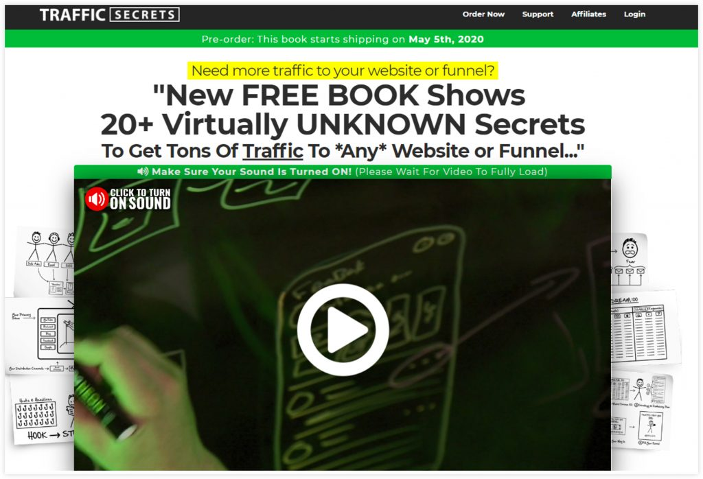 ClickFunnels Book Funnel Template Sales Page