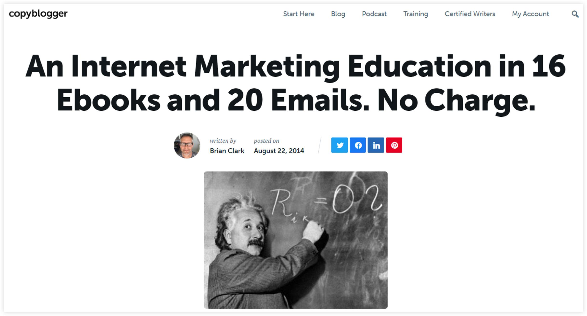 copyblogger online marketing courses