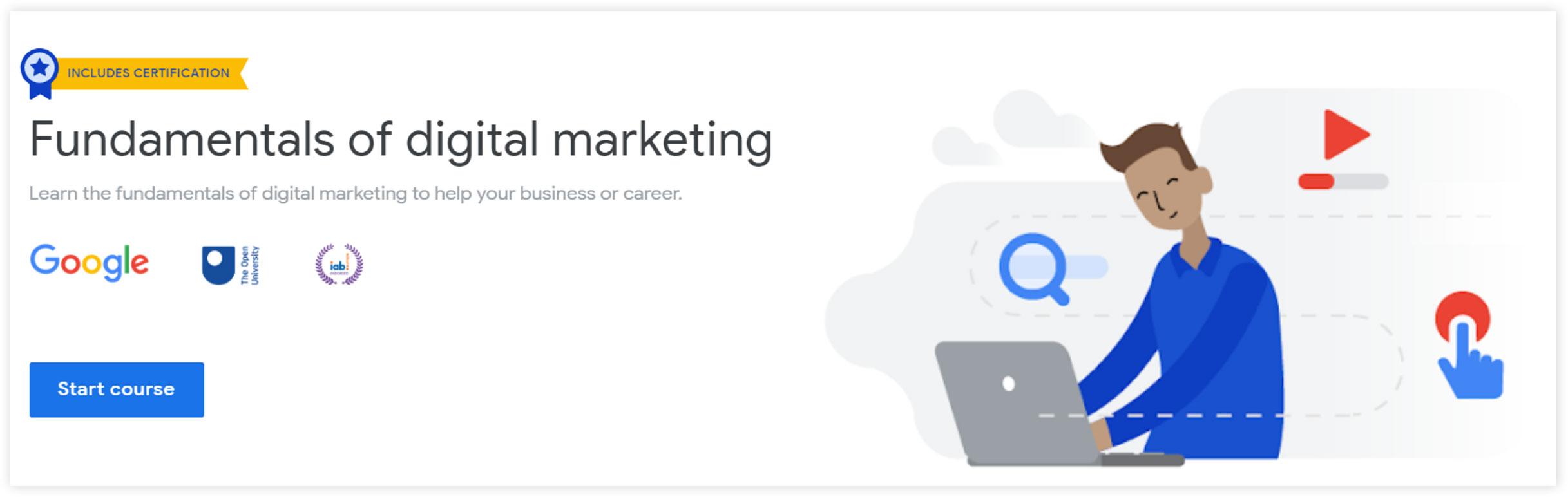 google digital marketing certification