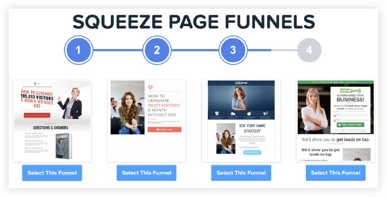 Example of lead magnet funnel templates for clickfunnels