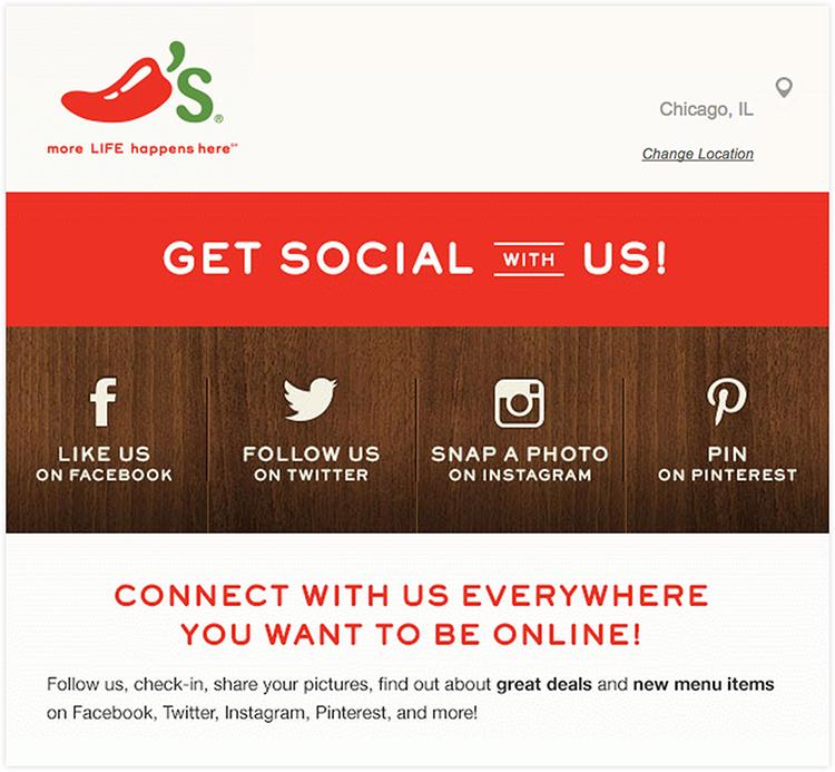 social following buttons