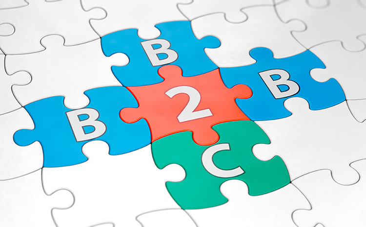 b2b and b2c lead generation puzzle