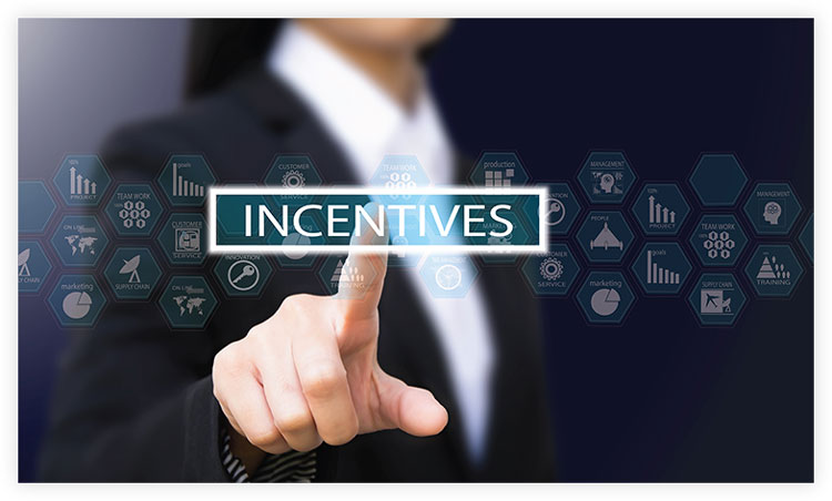 incentive offers to acquire leads