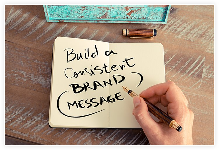 set a brand message of your business