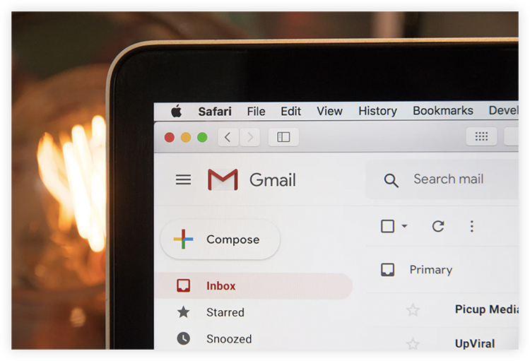 gmail inbox to work on email marketing