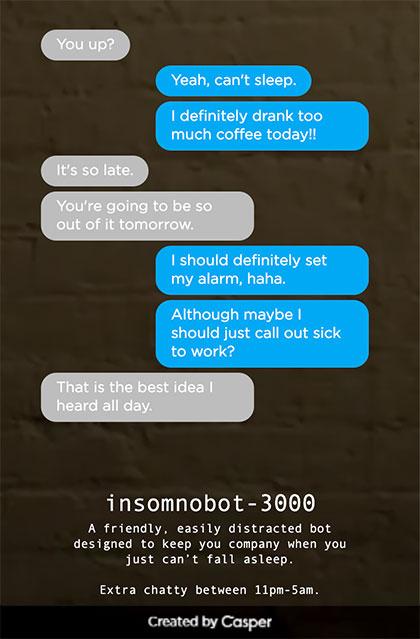 insomnobot-3000 chatbot by casper