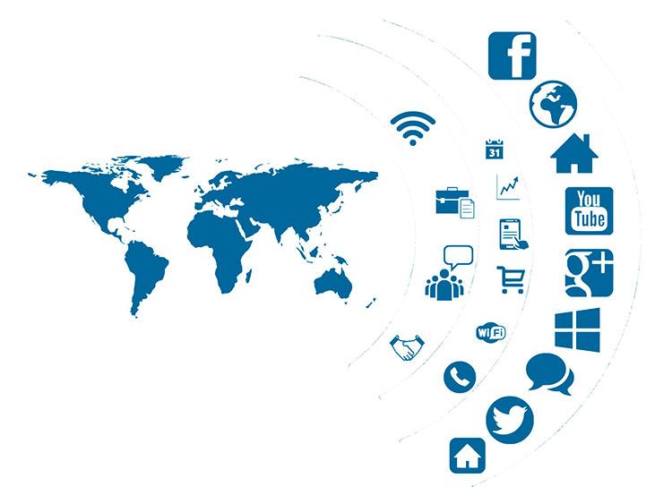 social media marketing platforms around the globe