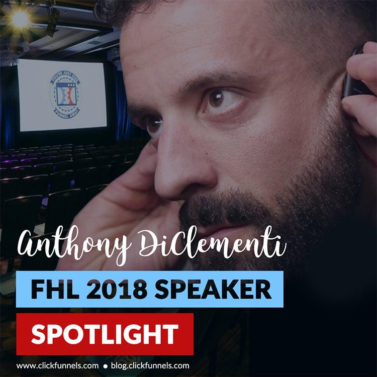 anthony diclementi on speaker spotlight