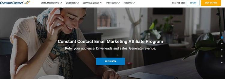 constant contact affiliate program