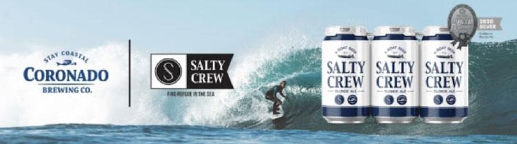 salty crew beer