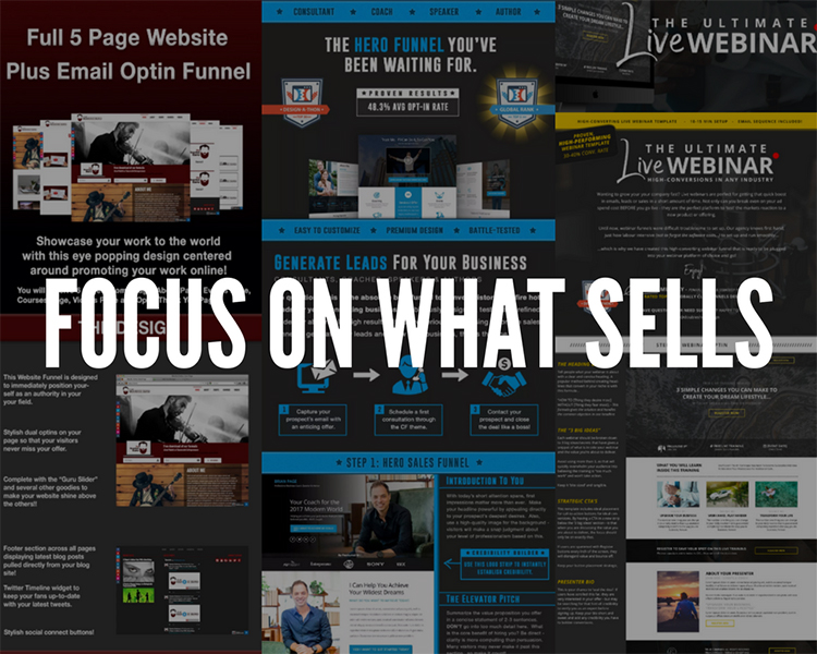 focus on what sells
