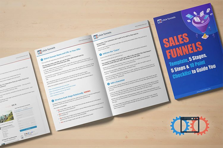 sales funnel template and 10 point checklist
