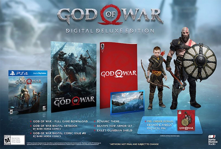 God of War Pre-Launch Example