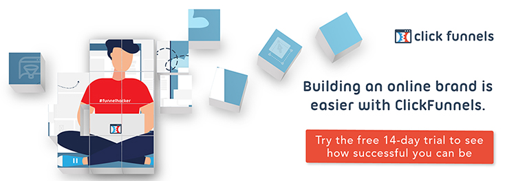 build online brand with clickfunnels