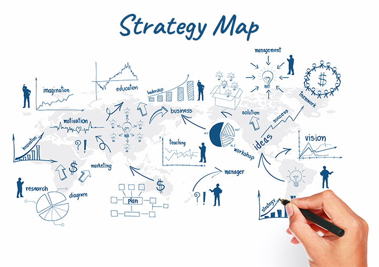 strategy map to online selling diagram