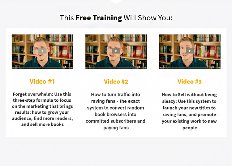Free training video series example