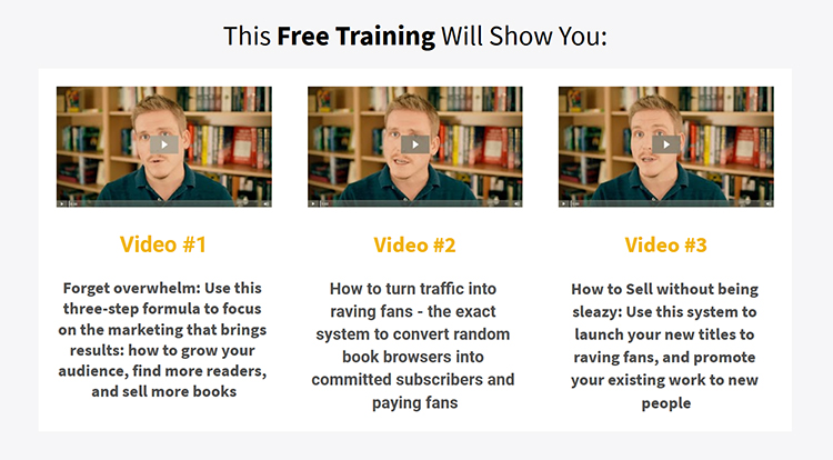 free video training lead magnet