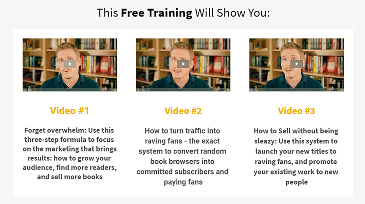 Free training video screenshot example.